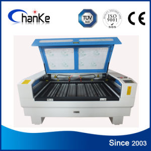 Double-Heads CO2 Laser for Acrylic Paper Fabric Leather Wood pictures & photos