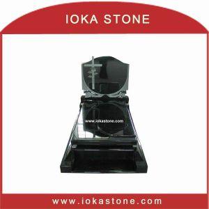 Black Granite Tombstones/Monuments (TS201)