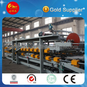 Hky Roof and Wall Sandwich Panel Roll Forming Machine Production Line pictures & photos