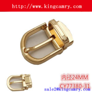 Factory Custom Pin Leather Belt Buckles for Women pictures & photos