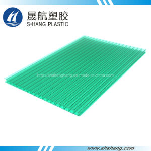 High Quality Frosted Polycarbonate Hollow Sheet with UV Protection pictures & photos