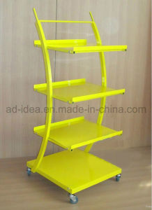 Auto Parts Single Side Flooring Display Stand pictures & photos