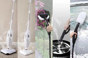 Ce, GS, RoHS, SAA, ETL Approved 1300W or 1500W 450ml Capacity Handheld Multi 10 in 1 Steam Mop X10 pictures & photos