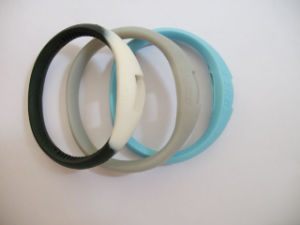 Rubber Moulding High Quality Wristband Silicone Bracelet pictures & photos