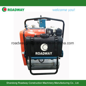 Walk Behind Single Drum Vibrating Road Roller Compactor pictures & photos