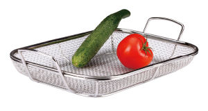 Stainless Steel Kitchenware Basket (TC009)