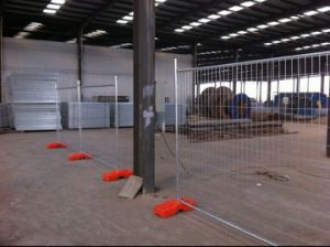 Galvanized Temporary Fencing Panels and Temp Fence Brace pictures & photos