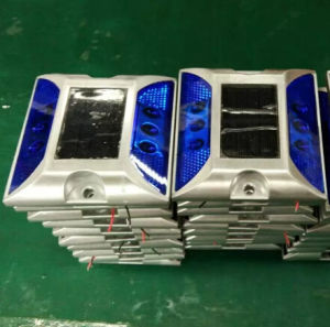 Yellow White Blue Red Solar LED Aluminium Road Stud Light pictures & photos