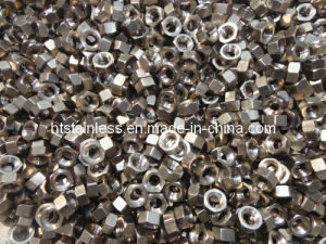 Titanium Nut / Small Size Machining Ti2 Hex Nut M5 pictures & photos