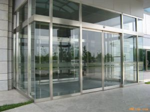 Luxury Designed Inter-Locked Building Entrance Use Automatic Sliding Doors pictures & photos