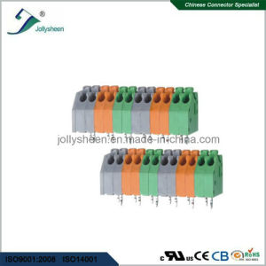PCB Spring Terminal Block Connector 7A with Colorful  Housing pictures & photos
