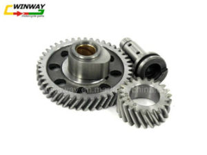 Ww-9602 Cg125 Motorcycle Double Gear pictures & photos