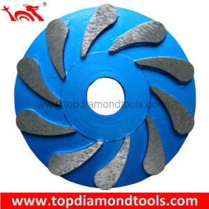 Metal Bond Grinding Wheel for Grinding Concrete Floor pictures & photos