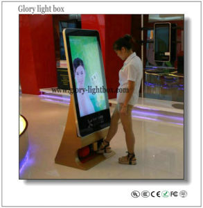 CE Approved China Advertising Player Network TV with Shoes Polisher pictures & photos