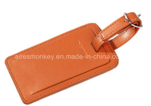 Hotest Product High Quality PU Leather Luggage Tag pictures & photos