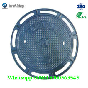 China Metal Casting Parts Cast Iron Manhole Cover with Frame pictures & photos