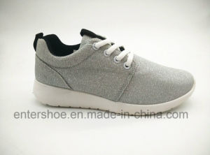 High Quality Fashion Lady Sports Shoes with PVC Outsole (ET-JRX160109W) pictures & photos