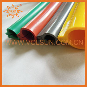 Red Silicone Rubber Overhead Line Cover pictures & photos