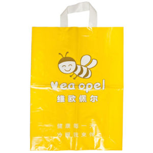 Premium HDPE Custom Printed Carrier Bags for Clothing (FLL-8368) pictures & photos
