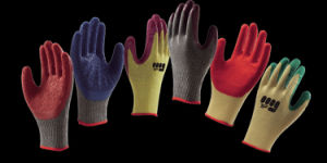 Abrasion Resistant Latex Coated Industrial Safety Working Glove with Grip pictures & photos
