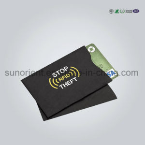 Customized Aluminum Paper RFID Blocking Sleeve pictures & photos