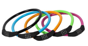 Colorful Bicycle Lock (TK8215) Bike Cable Lock