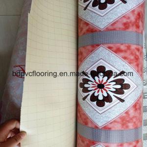 1.0mm-1.8mm Hot Sale Sponge PVC Vinyl Flooring Covering pictures & photos