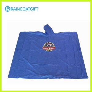 Promotional Custom Logo Printed PVC Rain Ponchos pictures & photos