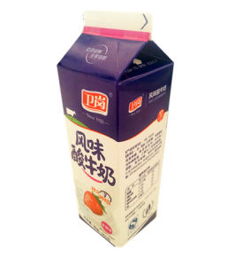 950g PE Coated Gable Top Carton for Yoghurt pictures & photos