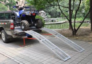 Arched Aluminum Ramp-Foldable Mesh Style (PR10313) pictures & photos