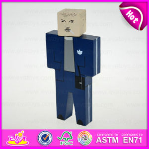 2015 New Design Hand Puppet Toy for Kids, Cheap Wooden Toy Puppet Wholesale, Hot Sale Wooden Doll for Gift or Decoration W06D060 pictures & photos