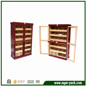 Deluxe Upright Wooden Humidor Cabinet for Storage pictures & photos
