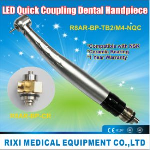 LED Anti-Retraction Torque Push-Button Quick Coupling Dental Product