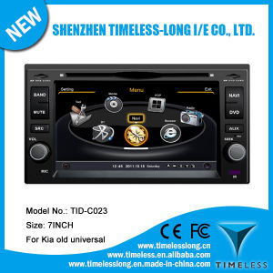 Car DVD for KIA Cerato (2005) /Sportage with Built-in GPS A8 Chipset RDS Bt 3G/WiFi DSP Radio 20 Dics Momery (TID-C023) pictures & photos