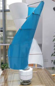 200W Vertical Axis Wind Turbine Price/ Maglev Wind Generator pictures & photos