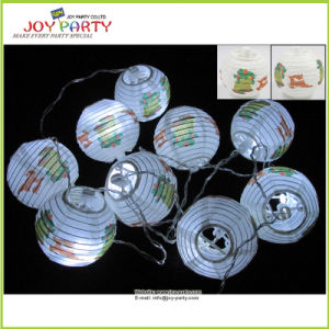 "3"" Paper Lantern String Light Christmas Decoration Garland Light pictures & photos"