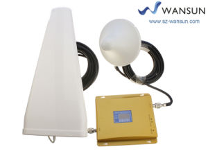 LCD 900/2100MHz Dual Band Wansuntone 17c54p2 Home Mobile Phone Signal Booster Signal Repeater Mobile Amplifier