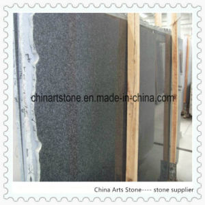 Nature Surface Black Granite Coping for Fence Wall pictures & photos