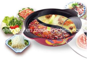 Alloy Aluminium Coated Non-Stick Soup Ceramic Cookware Pot Sx-020 pictures & photos