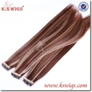 Strongest Tape Hair Extension Brazilian Virgin Remy Hair pictures & photos
