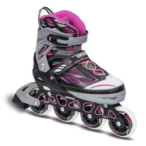 Semi Soft Adjustable Inline Skate (SS-149A-1) pictures & photos