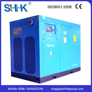 A/C Power Direct Driven Screw Air Compressors with Inverter 110kw pictures & photos