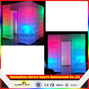 LED Inflatable Wedding Photo Booth Mini Inflatable Photobooth Wall