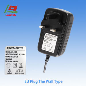 12V2a Wall Plug EU Adapter Power Adapter