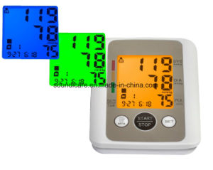 Colorful Backlight Talking Blood Pressure Meter (BP805) pictures & photos