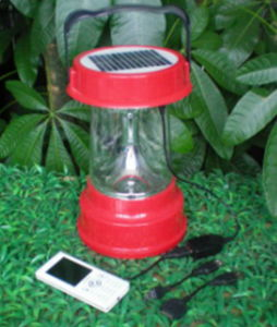 3W Solar LED Light with Mobile Charger (SP-ST03AC)