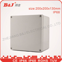 ABS Plastic Enclosure-Switch Box IP68, Waterproof, Size 200X200X130mm pictures & photos