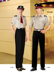 Custom Security Clothes, Hot Sell Security Uniform Design-Se01 pictures & photos