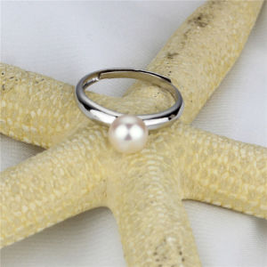 Adjustable Natural Freshwater Pearl Fashion Ring pictures & photos