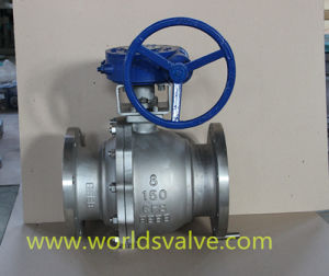 Stainless Steel CF8m 2 Pieces Control Ball Valve (Q41F-10/16/25)